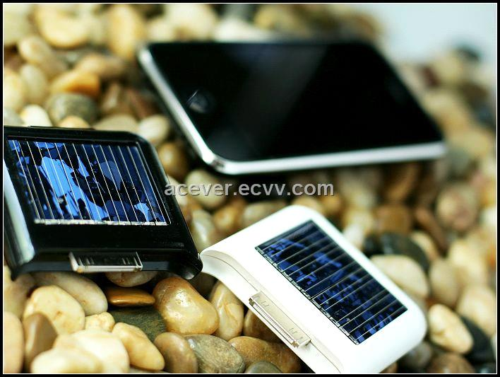 Solar Power Charger for 3G Iphone