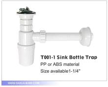 Sink Bottle Trap