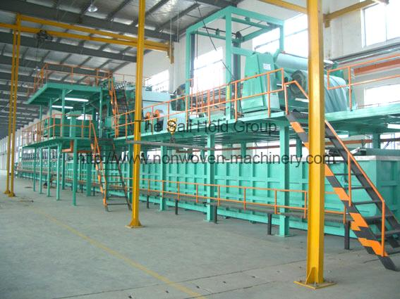 Superfine Fiber Leather Wet Process Coating Line
