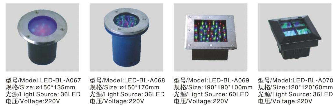 LED Buired Light