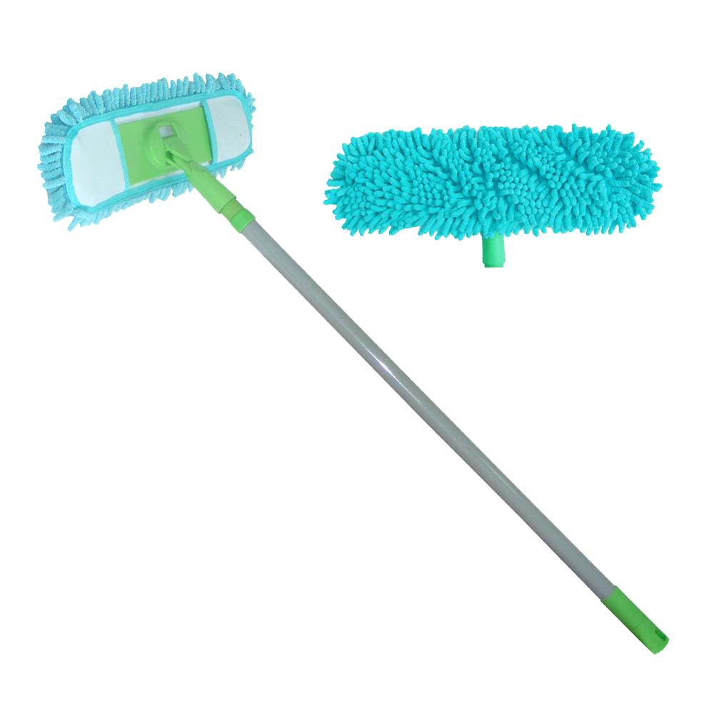 Microfiber Chenille Floor Flat Dust Cleaning Mop