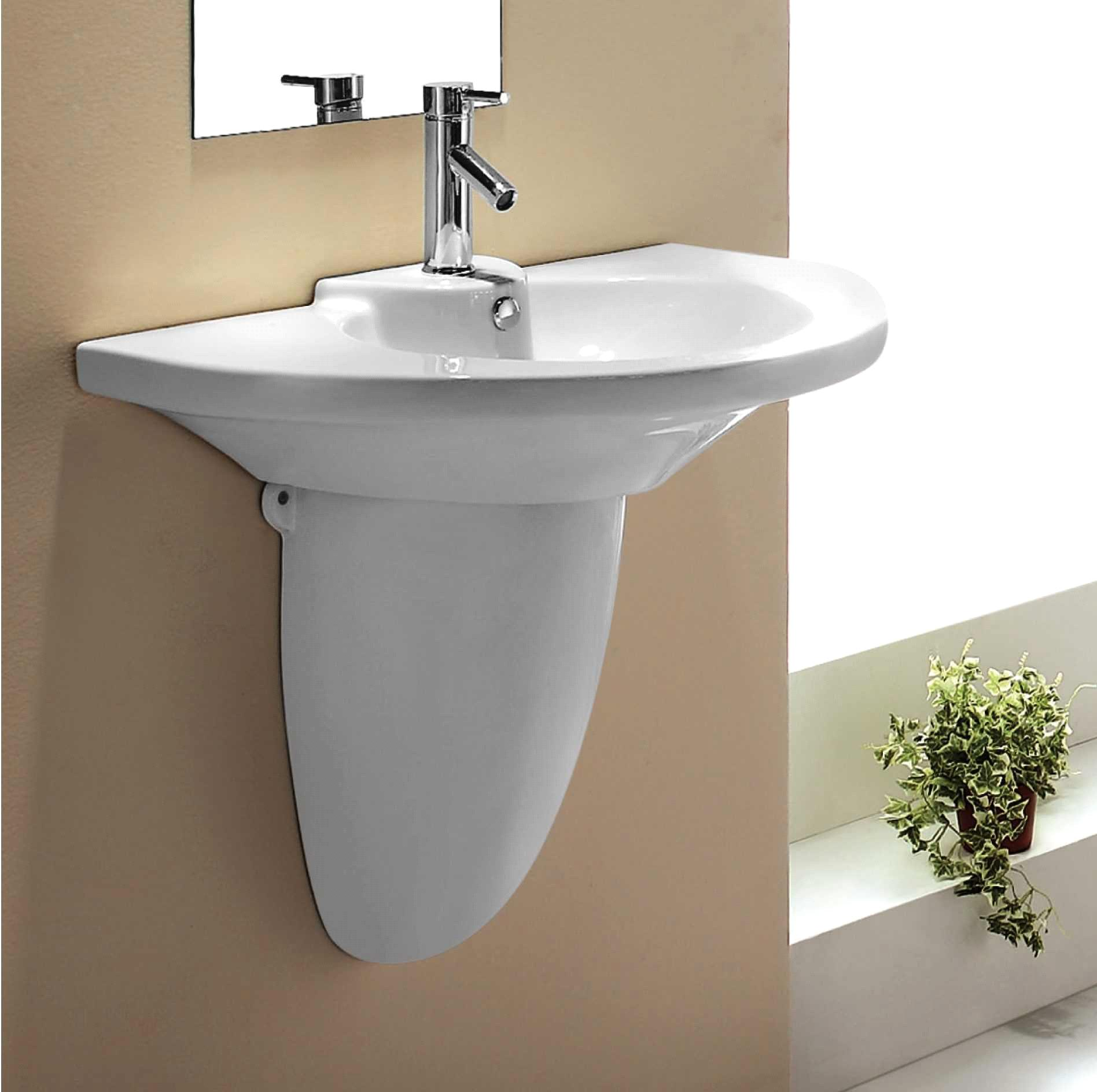 ... Attractive Sink Without Pedestal #7   Pedestal Basin ...