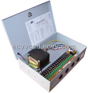 24Vac output 18ch CCTV Power Supply
