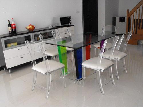 Acrylic Dining Table Set Home Design Ideas