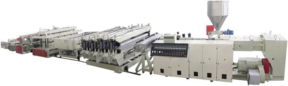 PVC Crust Foamed Plate Production Line