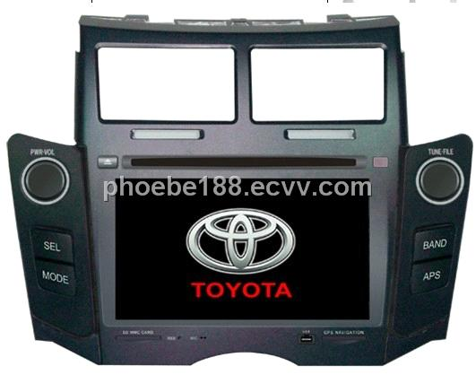 Special Car DVD for Toyota Yaries