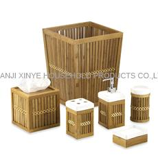 Exceptionnel Bamboo Bathroom Accessories