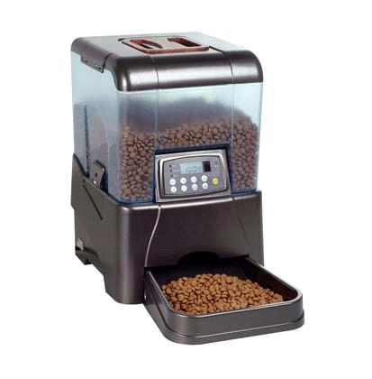 automatic pet products large feeder cat other feeders lcd free recorder colours with item postage voice
