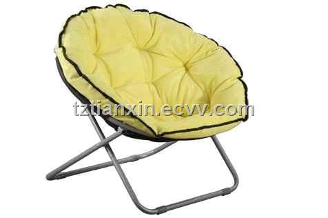 Folding Chair, Round Chair,moon Chair
