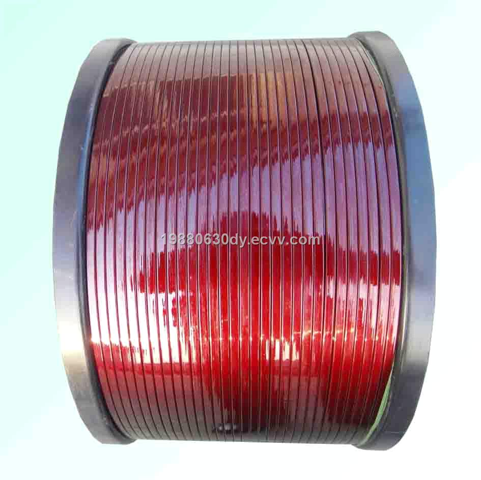 TI 200 Polyester / Polyamide-Imide Enameled Copper Rectangular Wire