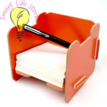 office supplies memo pad holder