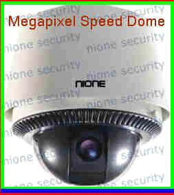 1.3 Megapixel 6 Inch IP Speed Dome
