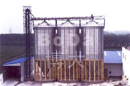 Hopper Bottom Steel Silos