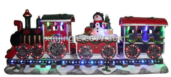 led christmas train