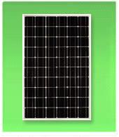 Solar Panel with 135W Peak Power and Anodized Aluminum Frame