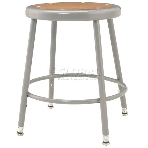 18 27 Quot Steel Shop Stool With Round Seat Purchasing