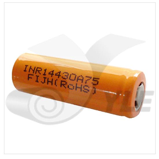14430 Cylindrical Li-Ion Batteries