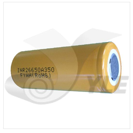 26650 Cylindrical Li-Ion Batteries