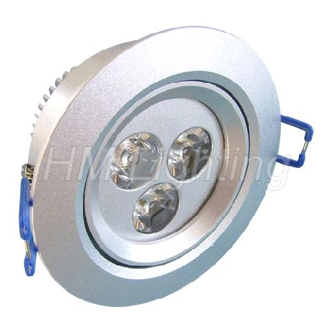 9W Dimmable led ceiling lamp