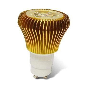 LED Bulb with 3.5W Power and 80 to 240V AC Working Voltage (GU10)