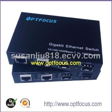 Gigabit 4 port fiber switch