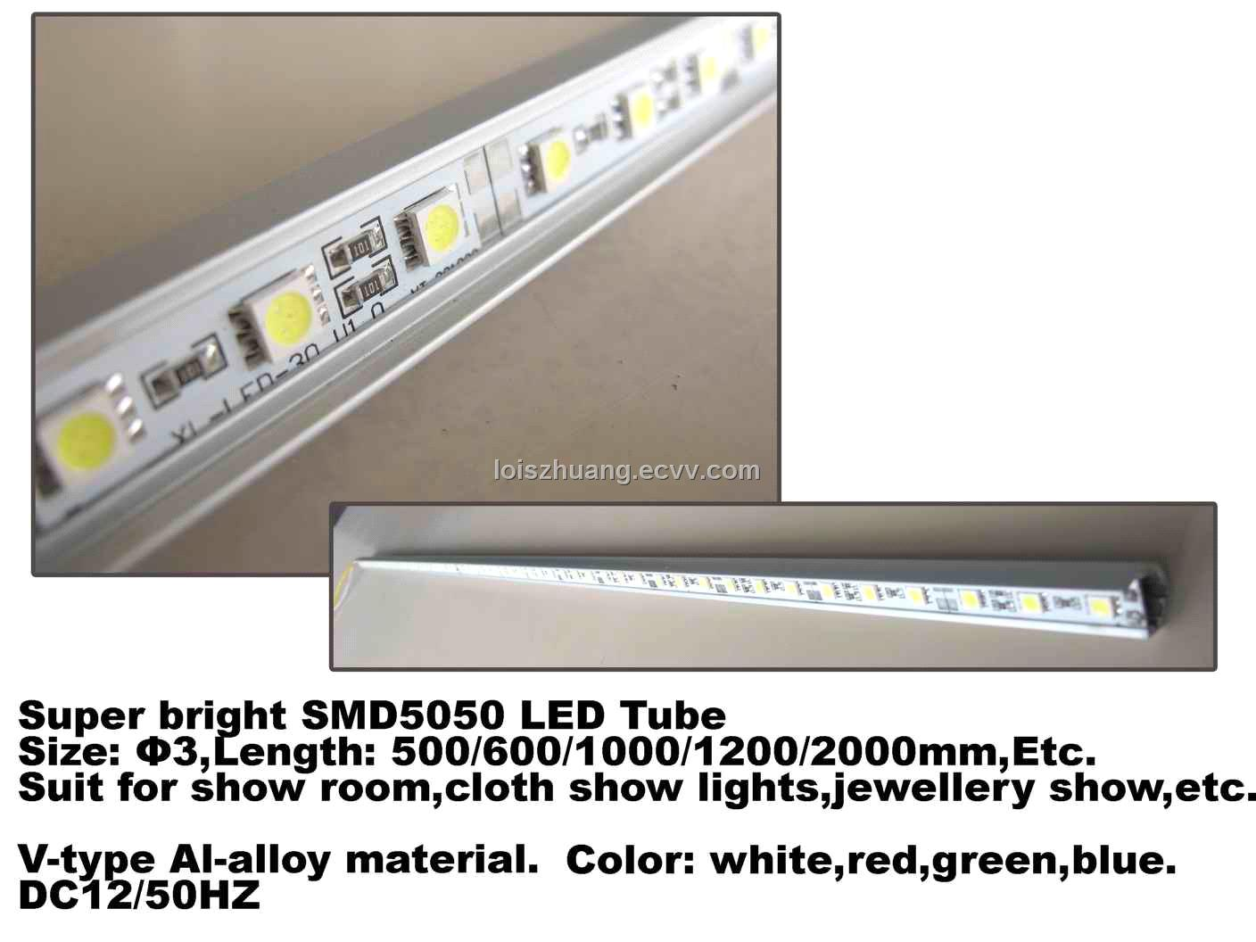 High Bright LED Tube for Jewellery (SMD5050)