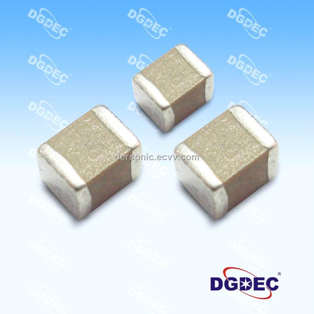 Mlcc Multilayer Chip Ceramic Capacitor 10uf 25v