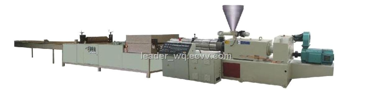 Pvc Pp Corrugated Sheet Extrusion Line From China