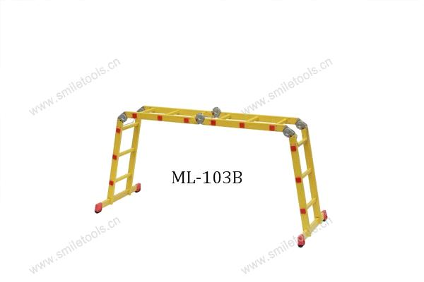 Aluminium Multi-Purpose Step Ladder (ML-103B)