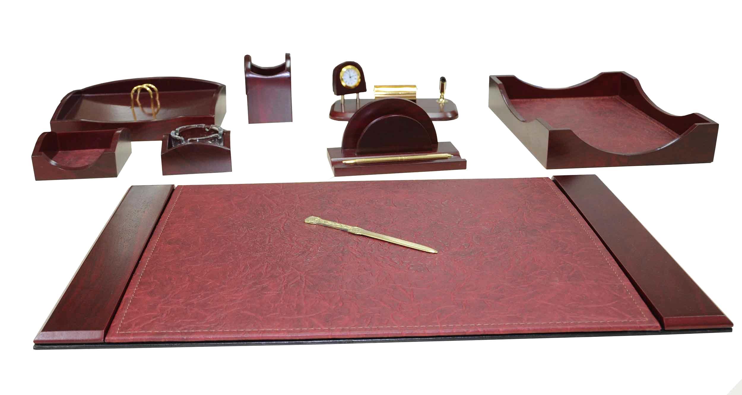 Akyazi Charisma Gany Desk Set Of 9