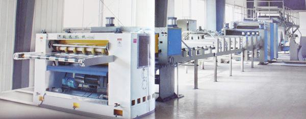 1200-2200 carboard  production line