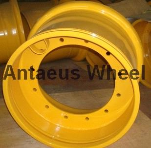 Earthmover Wheel Rim, Engineering Wheel, OTR Wheel Rim, Loader Wheel Rim 49-17.00/3.5