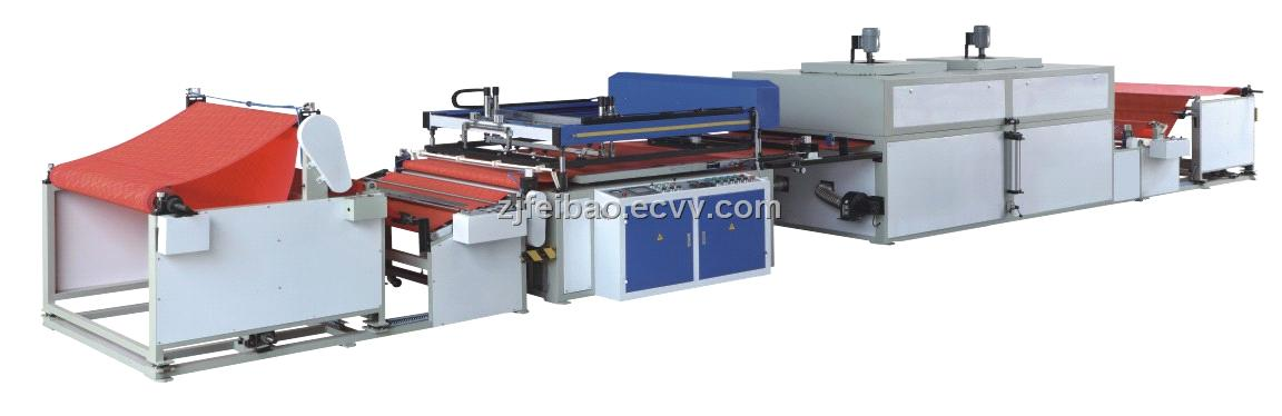 Feibao Automatic Non-Woven Fabric Screen Printing Machine
