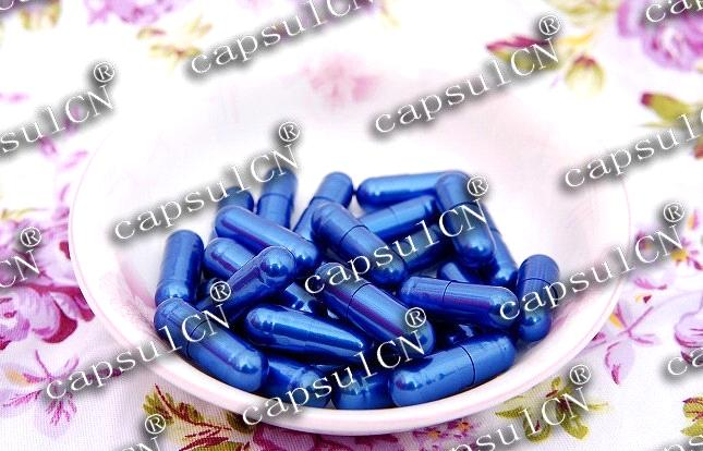 Hard Empty Capsules Size 0 (Violet)