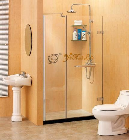 Outside Hinge Door Sliding Shower Screen