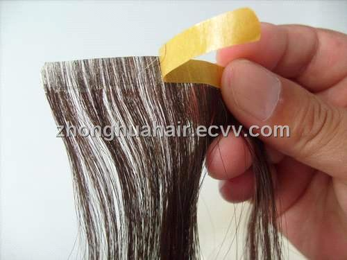 pu skin weft glue style hair extension purchasing souring