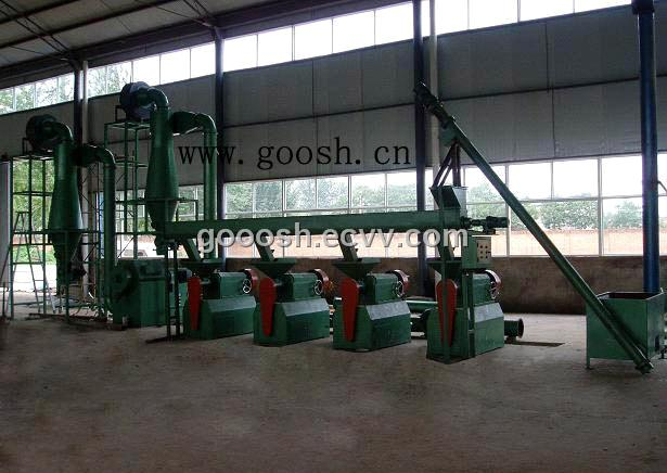 Tire Recycling Equipment Technology