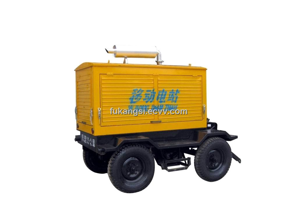 100kW Cummins Trailer Type Generator Sets with Soundproof Cover