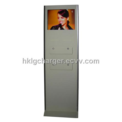 Cell Phone Charging Station With LCD Screen