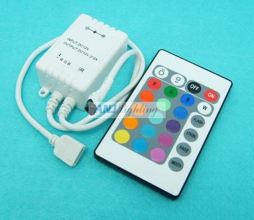 Infrared RGB LED Controller, IR LED Controller