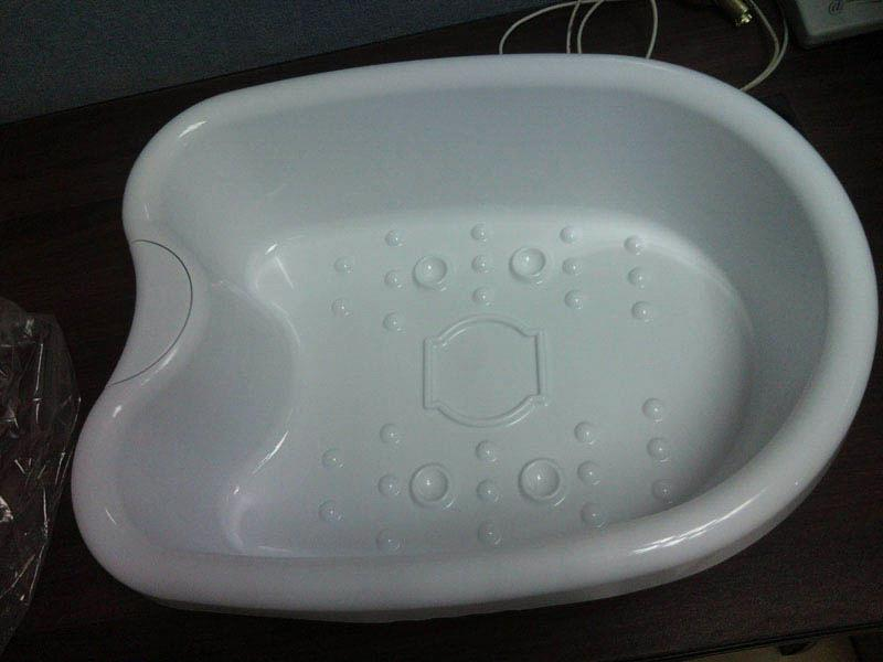 Plastic Foot Tub for Ion Detox Cleanse Foot Spa purchasing, souring ...