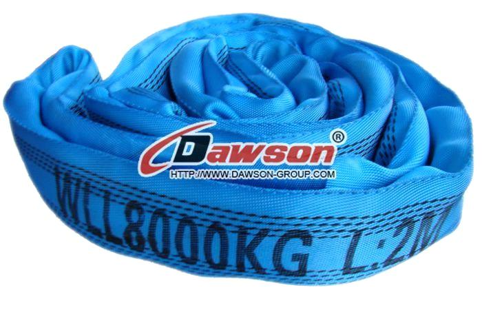 Polyester Round Slings. WLL 8 Ton Round Slings. 10000Kgs Round Slings .China manufacturers,supplier