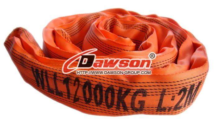 WLL12 Ton Round Slings. 12000Kgs Round Sling,China manufacturers, supplier