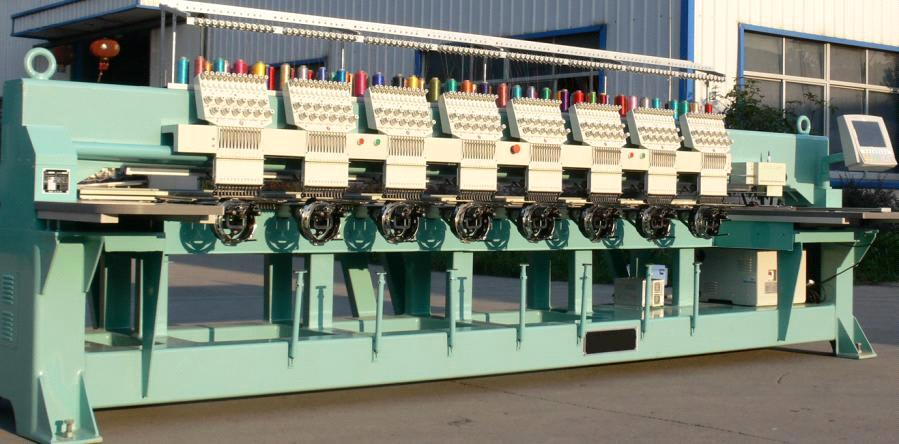 Mayastar 1208 Cap Embroidery Machine