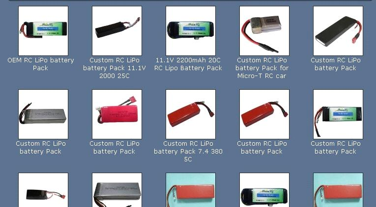 Remote Control Lithium Batteries