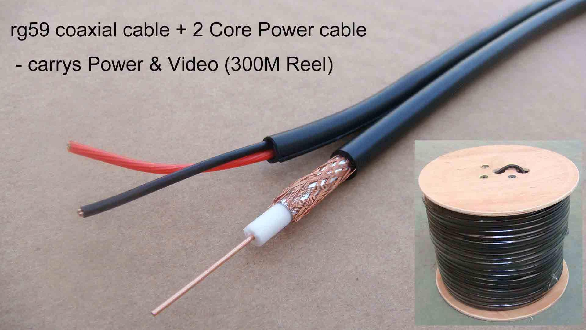 RG59 Coax Cable + 2 Core Power (Shotgun) purchasing, souring agent ...