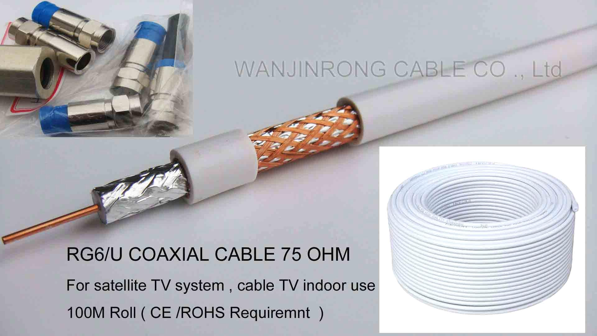 RG6U Cable, Satellite TV Cable, CCTV Cable, MATV Cable, HDTV Cable ...