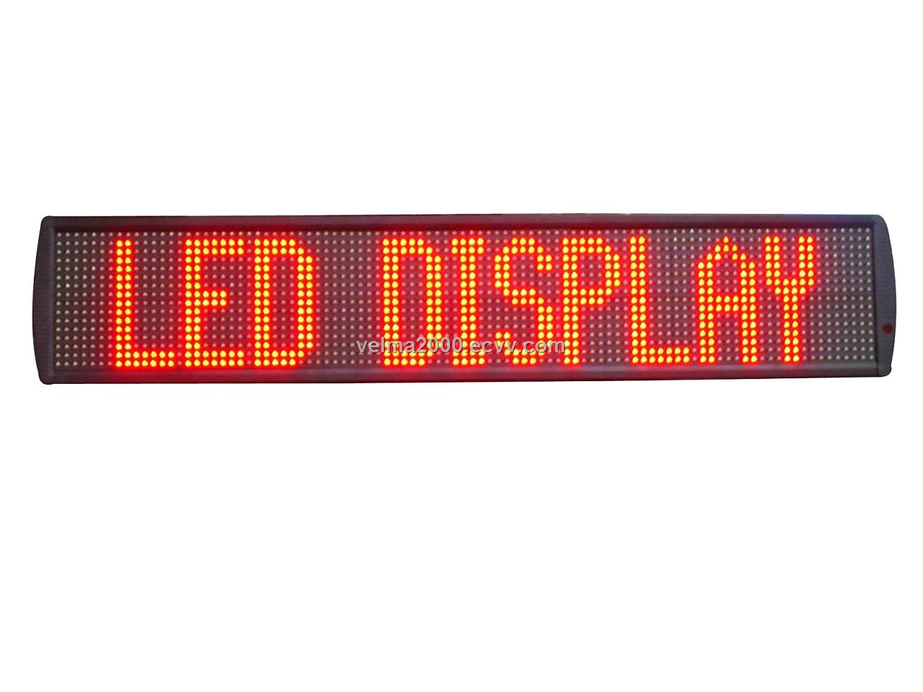 Window/ Semi-outdoor LED display Pitch: 11.43mm