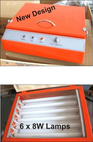 UV Exposure Machine for polymer plate