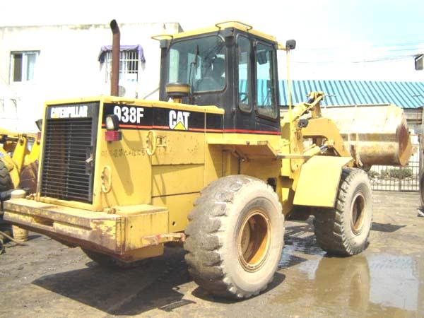 Used CAT 938F wheel  Loader japan origin